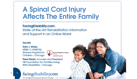 A Spinal Cord Injury Affects The Entire Family
