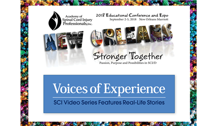 Voices of Experience: SCI Video Series Features Real-Life Stories