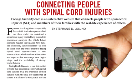 Connecting People with Spinal Cord Injuries