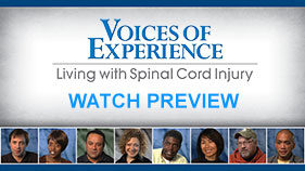 "Click to watch a special preview of the ""Voices of Experience"" series"
