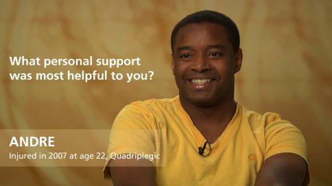 Andre - quadriplegia - personal support