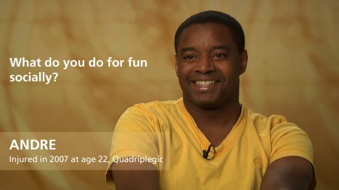Andre - quadriplegia - What do you do for fun socially
