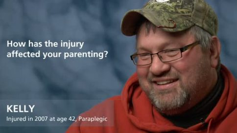 Kelly - paraplegia - affect your parenting