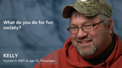 Kelly - paraplegia - what do you do socially