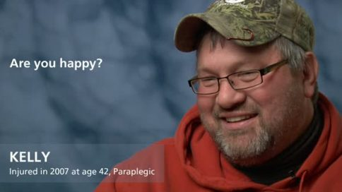 Kelly - paraplegia - are you happy