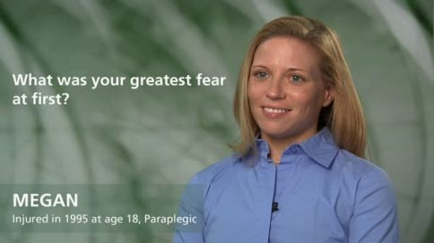 Megan - paraplegia - greatest fear at first
