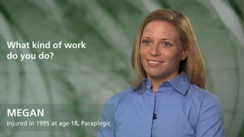 Megan - paraplegia - what kind of work do you do