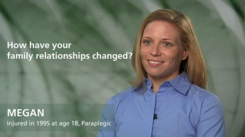Megan - paraplegia - how have your relationships changed