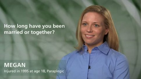 Megan - paraplegia - how long have you been married or together