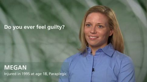 Megan - paraplegia - do you ever feel guilty