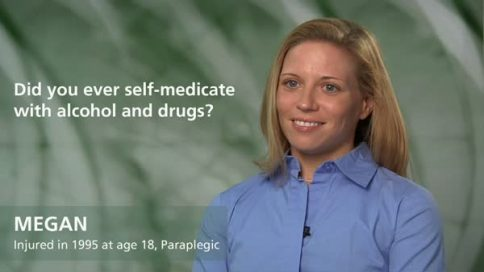 Megan - paraplegia - did you ever self medicate