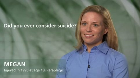 Megan - paraplegia - did you ever consider suicide