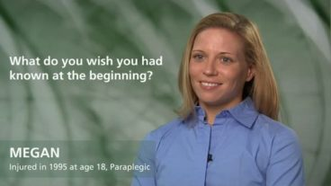 Megan - paraplegia - what do you wish you had known