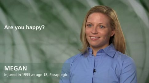 Megan - paraplegia - are you happy