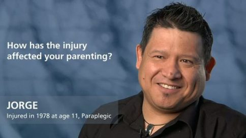 Jorge, paraplegia since age 11