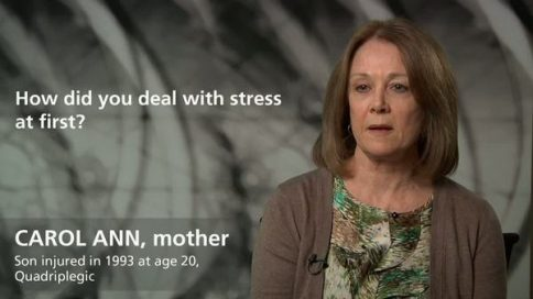 Carol Ann - stress after sons injury